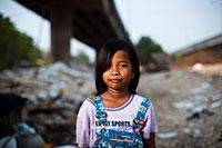 Hopeful little girl