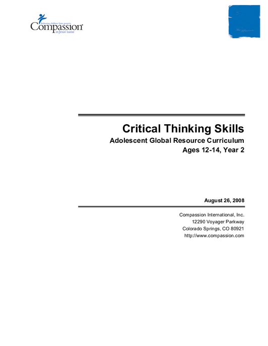 cognitive load of critical thinking strategies Cognitive load theory of apy-related skills,3 critical thinking,4 and jim f experts in the area of cognitive psychology argue that strategies such as problem.