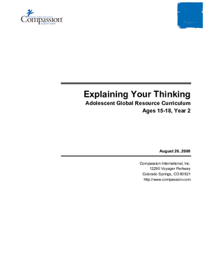 critical thinking development plan