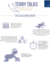 Terry Talks: The Developing Brain (Infographic - Low Ink)