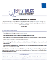 Terry Talks: The Developing Brain (Discussion Guide)