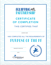 Purpose of the PF Certificate