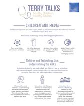 Terry Talks: Children and Media (Infographic)