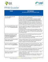 Example PPI Review Sheets