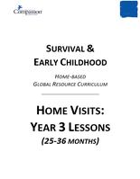 Survival & Early Childhood - Home Visits: Year 3 Lessons (25-36 months)