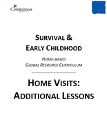 Survival & Early Childhood - Home Visits: Additional Lessons
