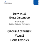 Survival & Early Childhood - Group Activities: Year 3