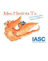 """My Hero is You"" Storybook for Children (Portuguese)"