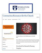Wheaton College - Coronavirus Resources for the Church