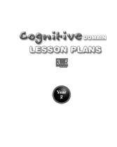 English African Core Curriculum - Cognitive - 3 to 5 - Year 2