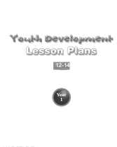 Youth Development Lesson Plans - 12 to 14 - Year 1
