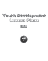 Youth Development Lesson Plans - 15 to 18 - Year 2