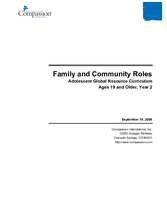 Family and Community Roles - Year 2