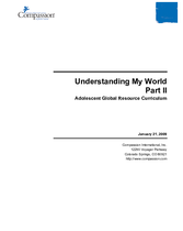 Understanding My World Part II - Year 2
