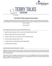 Terry Talks: Nutrition (Discussion Guide)