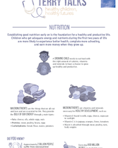 Terry Talks: Nutrition (Infographic)
