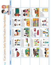 Supplemental Curriculum (3-5 Year Old): Unit 12