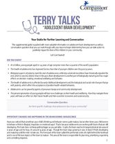 Terry Talks: Adolescent Brain Development (Discussion Guide)