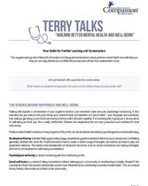 Terry Talks: Building Better Mental Health and Well-Being (Discussion Guide)