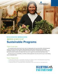 Why LRM? Sustainable Programs
