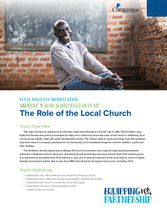 Who is Involved in LRM? The Role of the Local Church