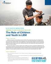 Who is Involved in LRM? Children and Youth
