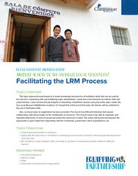 How Do We Mobilize LRM? Facilitation Skills