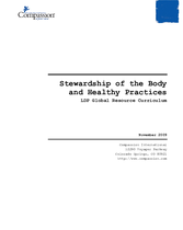 Stewardship of the Body and Healthy Practices