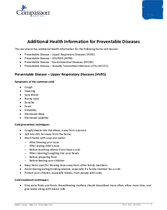 Document 4: Health Resource: Additional Health Information for Preventable Diseases