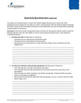 SEC Assessments and Questionnaires: Quarterly Questionnaire