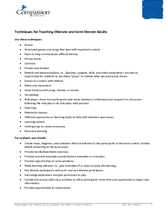 Document 8: Literacy Activity: Techniques for Teaching Illiterate and Semi-literate Adults