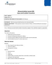 GR25: Injury and Accident Prevention