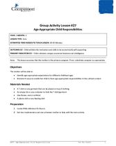 GR27: Age-Appropriate Child Responsibilities